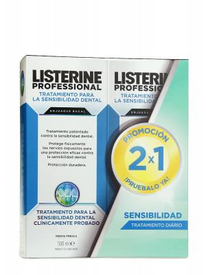 Listerine professional sensibilidad dental 500ml