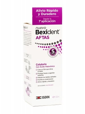 Colutorio bexident aftas 120ml