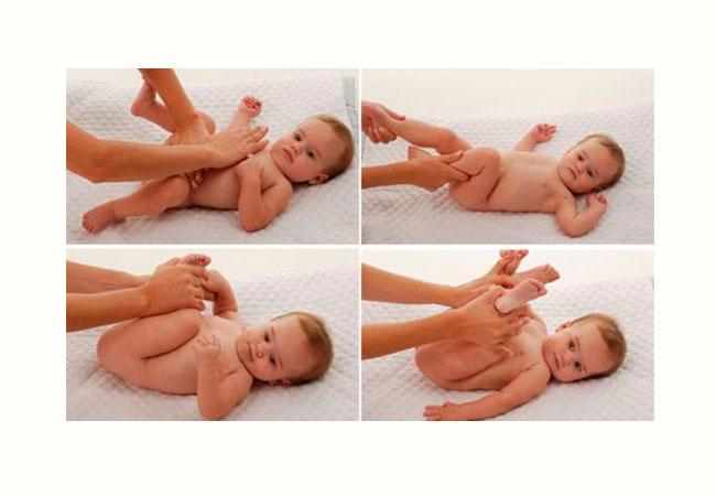 masaje shantala movimientos