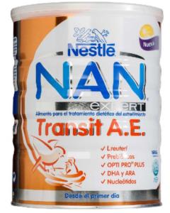 leche nan expert transit