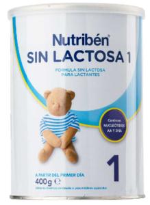 leche nutriben sin lactosa