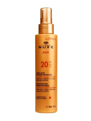 Leche en spray con spf 20 de nuxe 150ml.