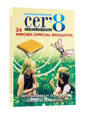 Cer`8 mosquito  24 parches