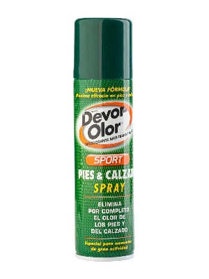 Devor olor sport spray pies y calzado