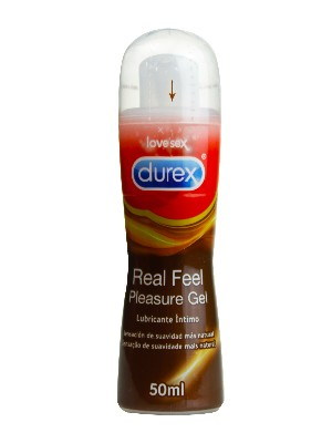 Lubricante íntimo real feel 50 ml durex