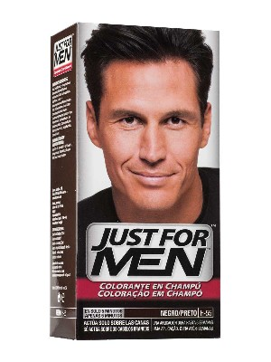 Just for men champu colorante 30 cc negro