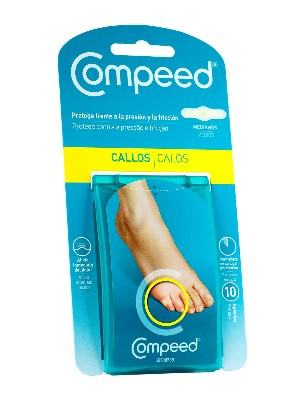 10 parches medianos para callos de compeed