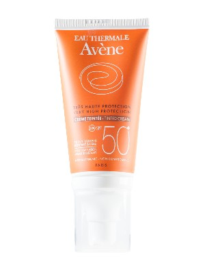 Crema solar coloreada avene spf 50+