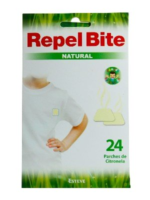 Parches con citronela 24 unidades repel bite