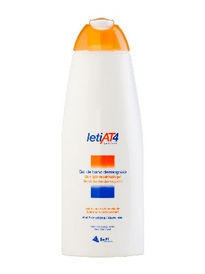 Leti at-4 gel de baño dermograso 750 ml