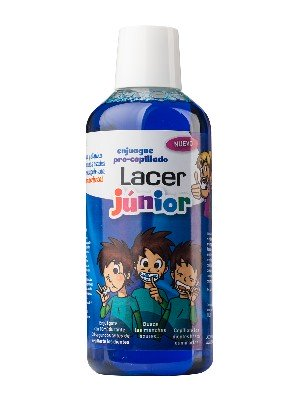 Lacer enjuague pre-cepillado junior