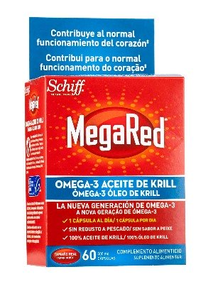 Megared 500 mg 60 cápsulas