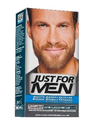 Just for men bigote y barba gel colorante 30 cc