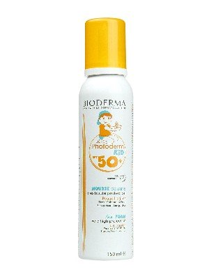 Mousse solar infantil  spf 50+ photoderm de bioderma 150ml