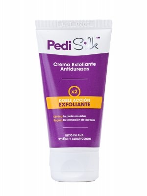 Crema exfoliante antidurezas pedisilk 50ml.