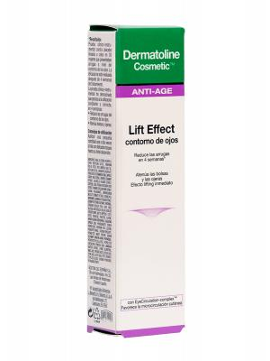 Dermatoline cosmetic lift effect contorno de ojos, 15ml