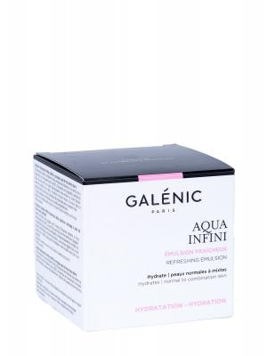 Emulsión refrescante aqua infini para piel normal y mixta 50ml