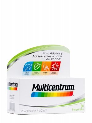 Comprimidos multicentrum 90 comp