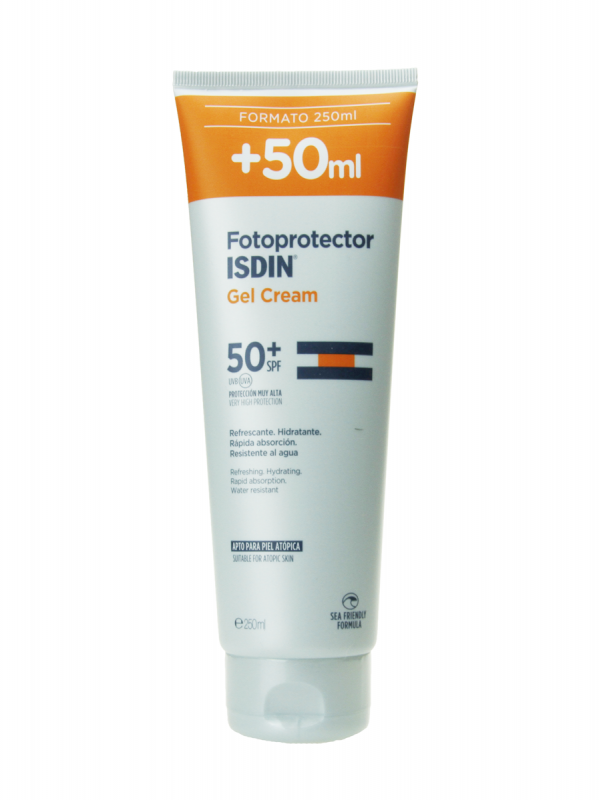 Fotoprotector isdin gel cream spf 50+