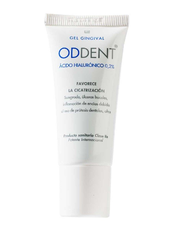 Oddent gel gingival acido hialuronico 20 ml