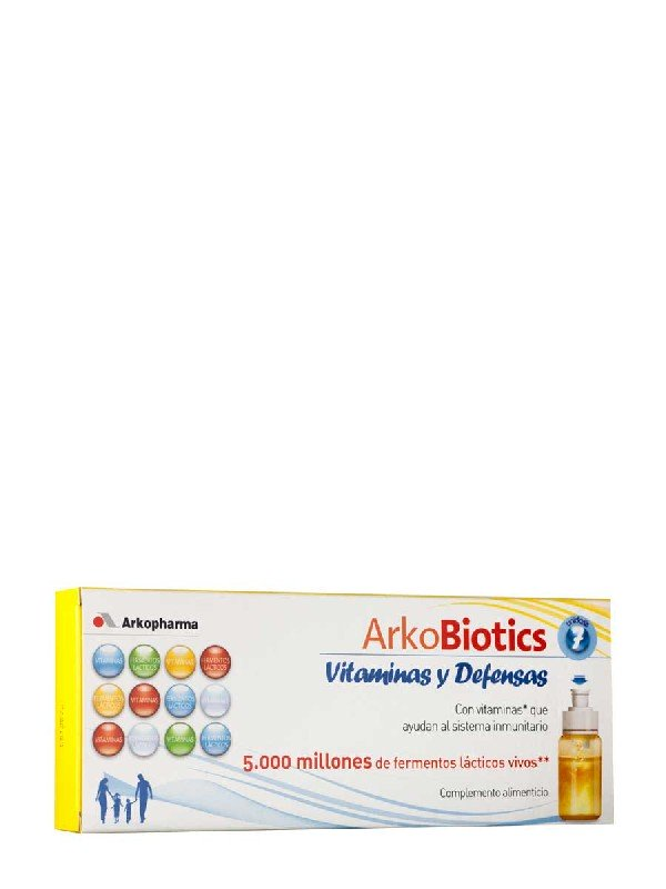 Vitaminas y defensas para niños arkoprobiotic, 7 dosis