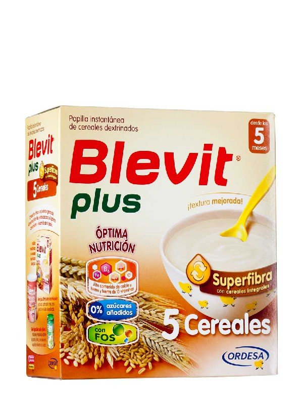 Blevit plus superfibra papilla 5 cereales 700 g