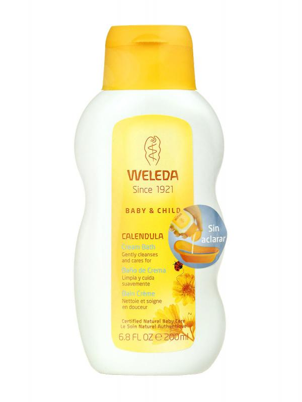 Baño de crema weleda baby & child caléndula  200 ml