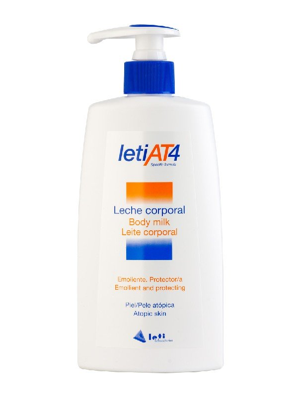 Leti at-4 leche corporal emoliente 250 ml.